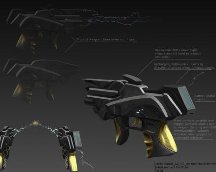 CoreyGooch A2 Handcannon Multiperspective Visualiz by Zeiram3f