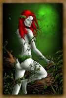 Poison Ivy Colour by pinnedup