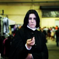 Snape... *only slightly amused* by smdownunder