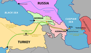 South Caucasus Pipelines by AY-Deezy