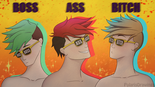 BOSS A$$ B!TCH - Pool Party by PolarisDrawings