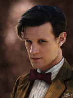11th Doctor by Rousetta