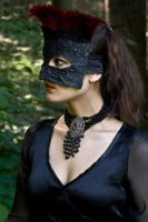 Black Lace Profile by eyefeather-stock