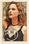 Natalie Portman - Art Nouveau by jdesigns79