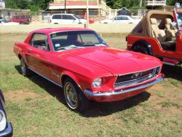 1968 Ford Mustang coupe by Mister-Lou