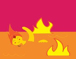 Swimming Pools (Flame Princess) by BenjaminHopkins
