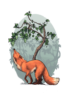 Fox and Grapes by NorthSheltie