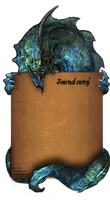 dragon journal by CatsGoPurr