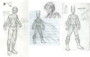 Batman character concepts by spacecow4