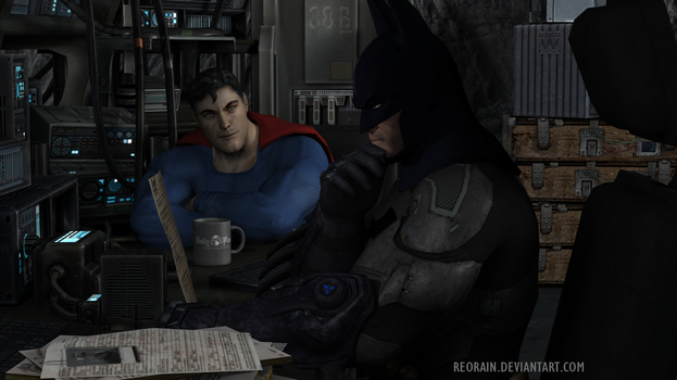 Night at the Batcave by reorain
