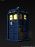 The TARDIS by RandomRails