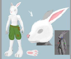 Bunny Char Sheet by AWESOMEtoast