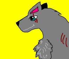 Claw Wolf on Paint by RouxWolf