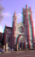 St. Mary's Church Anaglyph by mrkane27