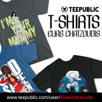 T-Shirts available by Elias-Chatzoudis