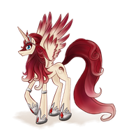 Vitannys Alicorn OC by Kna