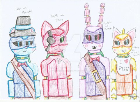 Five Nights At Leo's by MarialineHamato