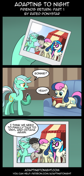 AtN: Friends Return -  Part 1 by Rated-R-PonyStar
