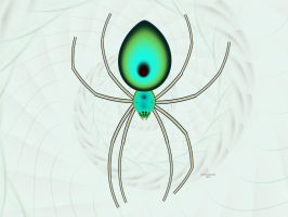 Orb weaver by fractalfiend