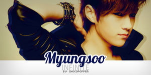 MyungSoo Sign V1 [INFINITE] by Chocopopper