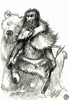 Neanderthal's last days - The Clan of the Red Bear by Astanael