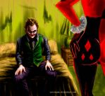 Joker and Harley by ceremono