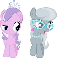 Diamond Tiara und Silver Spoon by Lumorn