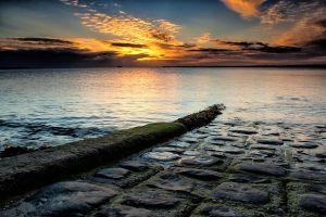 Early morning over Belfast Lough by marklewisphotography