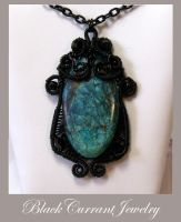 Elegant Turquoise by blackcurrantjewelry