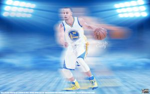 Stephen Curry by pllay1