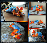 Commission Xeshaire plush by AzureHowlShilach