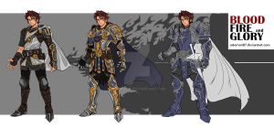 Bloodfireglory_Sir Arthur_Character Designing by NDomon87