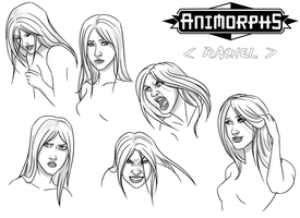 animorphs: expressions by LizCoshizzle