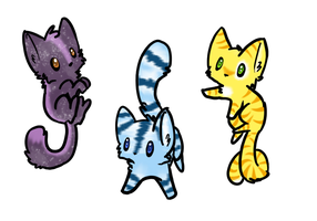 Free Kitten Adoptables by SierraDHx3