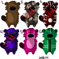 Beaver Adoptables by Wolfgrl13