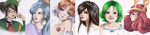 Portraits Coloured by Vether