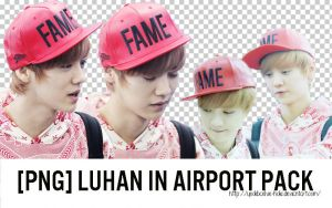[PNG] 13.10.13 Luhan in Airport PACK by yeolibaekie-holic