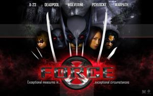 X-Force Movie WallPaper by lesajt