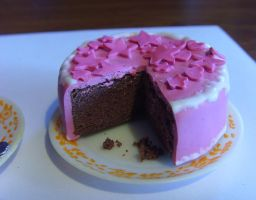 Pink Cake by tyney123