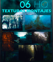 + 06 Texturas Tenebrosas para Montajes by DaniMonsterEditions