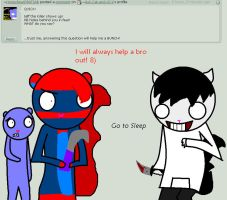 Question of the admin 1# JTK by Ask-Cat-and-OCs