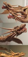 King Ghidorah 91 Heads WIP by Legrandzilla