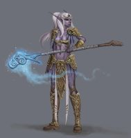 Concept: WoW Night Elf by Ancorgil