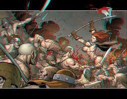 She Devil Anaglyph by Geosammy