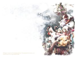 FFIX - X-mas wallpaper by eikomakimachi