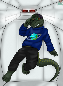 .:Art Trade:. Timothy, Astronaut in Training! by Fox-Superior