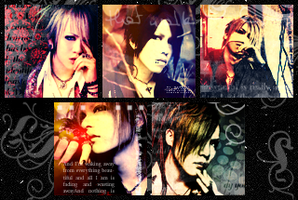 .:the GazettE Icons:. by FalcoN-chan93
