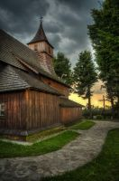 Zawada Wooden Church by marrciano