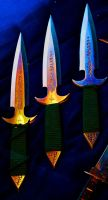 Throwing Knives by Jaxyral