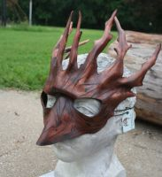 Beaked Forest Spirit Mask by nondecaf